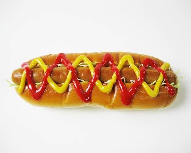 Os cães podem comer cachorros quentes?